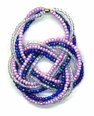 Double Coin Knot Pendant